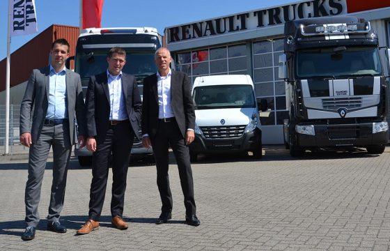 Onderhoud Renault Trucks Barneveld naar Harbers