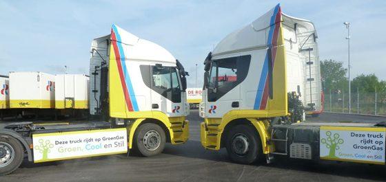 Nieuwe CNG-trucks voor De Rooy
