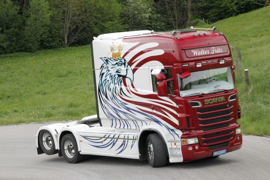Bizarre trucks op Assen