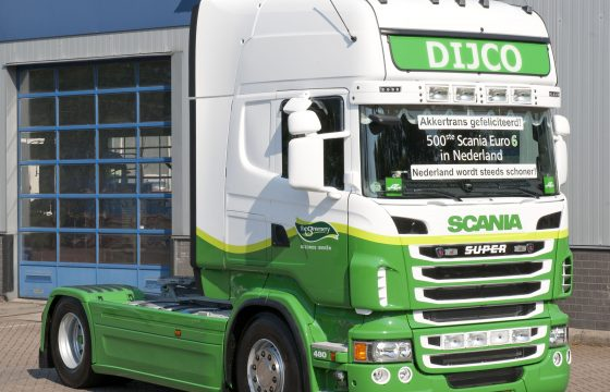 Scania Euro 6 is populair