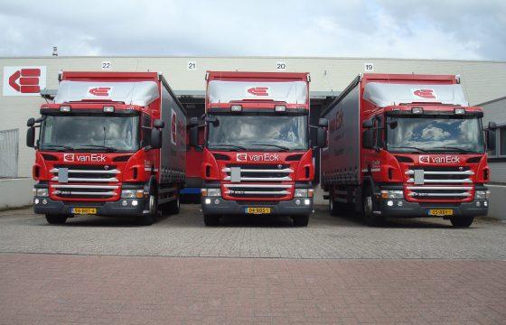 Scania Euro 6 bakwagens voor expeditie Van Eck
