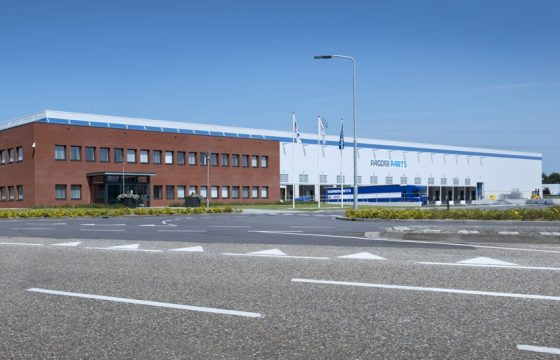Nieuw Paccar Distribution Centre in Eindhoven
