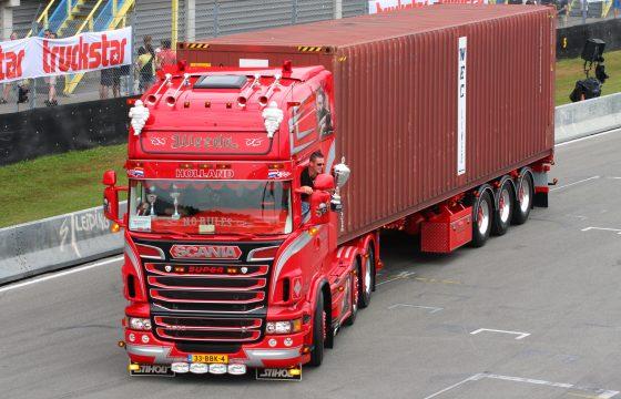 Weeda Scania R500 Mooiste Truck van Nederland