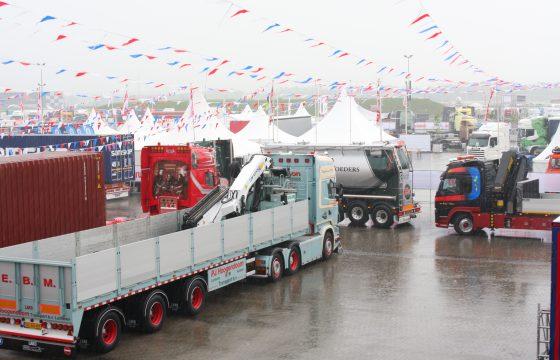 Onzeker weerbeeld Truckstar Festival