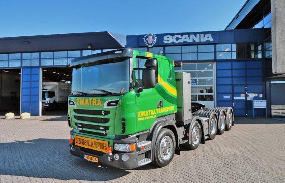 Zware Scania R620 voor Zwatra