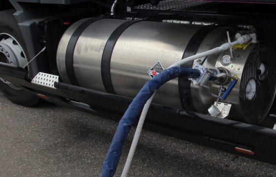 Volvo LZV op LNG