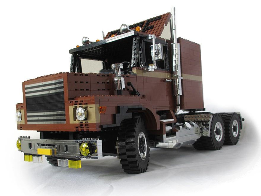 Spiksplinternieuw Inspiratie voor LEGO fans - Truckstar CH-86