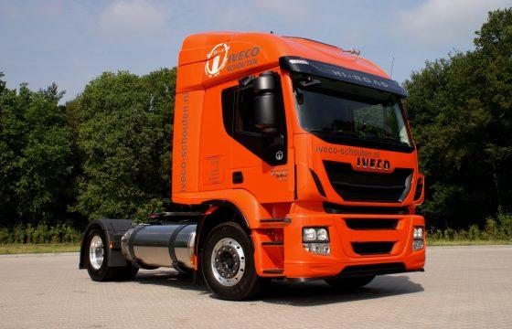 LNG-trucks voor Rolande en Iveco Schouten