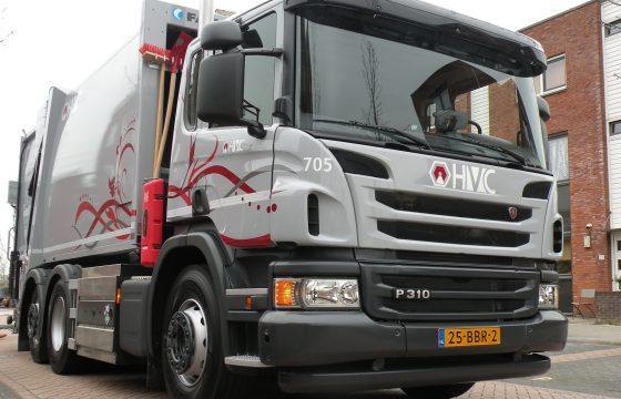HVC zamelt vuil in op gas