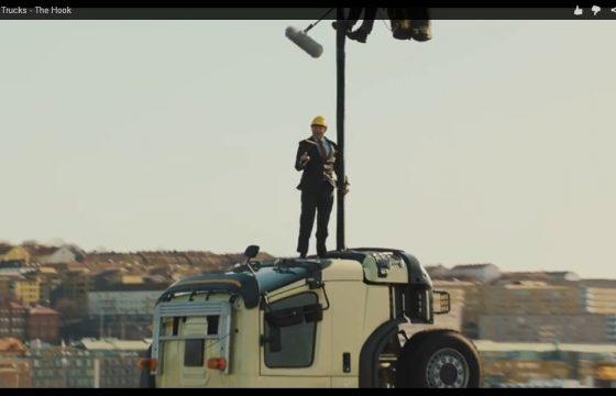 Nieuwe stunt-video Volvo