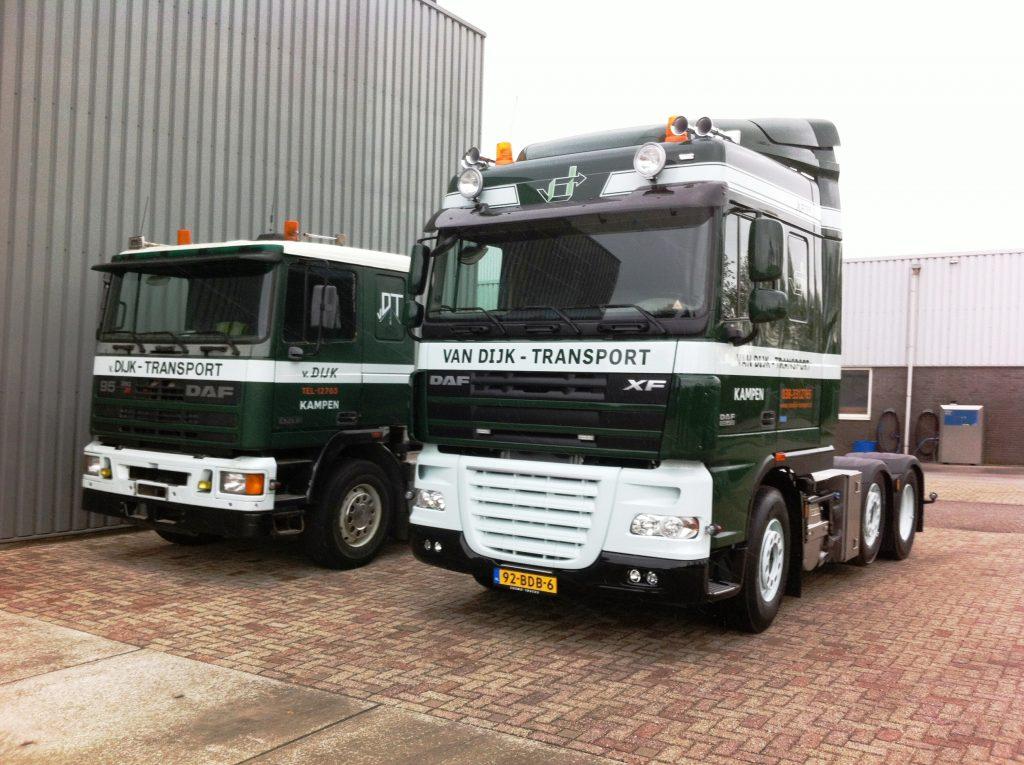 DAF 105 voor Van Dijk Kampen