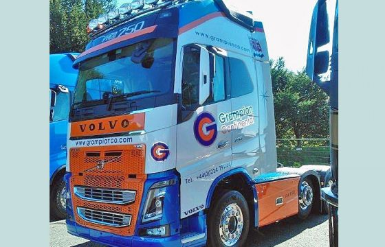 Nieuwe Volvo FH Grampian Continental