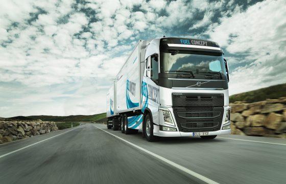 Volvo start Fuel Concept