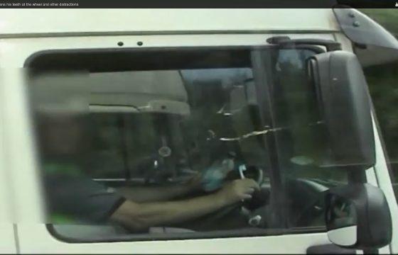 Pas op voor de Britse politie-truck
