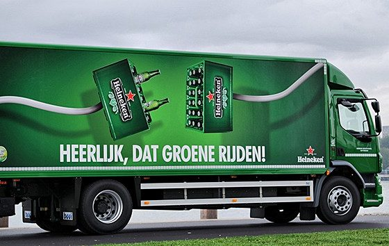 Zwaarste elektrische truck voor Heineken