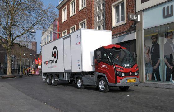 Cargohopper komt naar Amsterdam