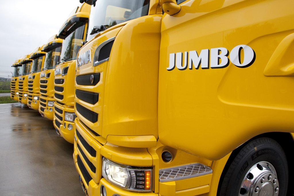60 Scania G410's voor Jumbo