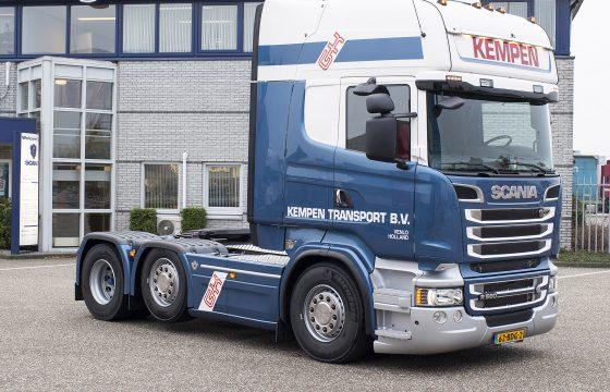 Sterke Scania V8 voor Kempen