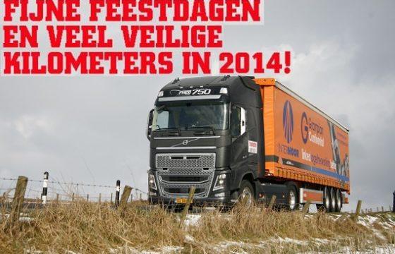 Truckstar wenst iedereen...