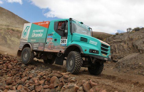 De Rooy op kop in Dakar Rally