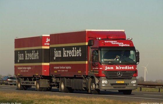 Zestigtal behoudt baan Jan Krediet