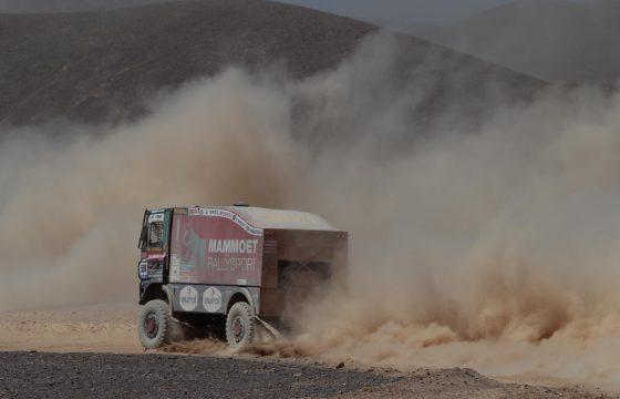 Spannende achtste Dakar-etappe