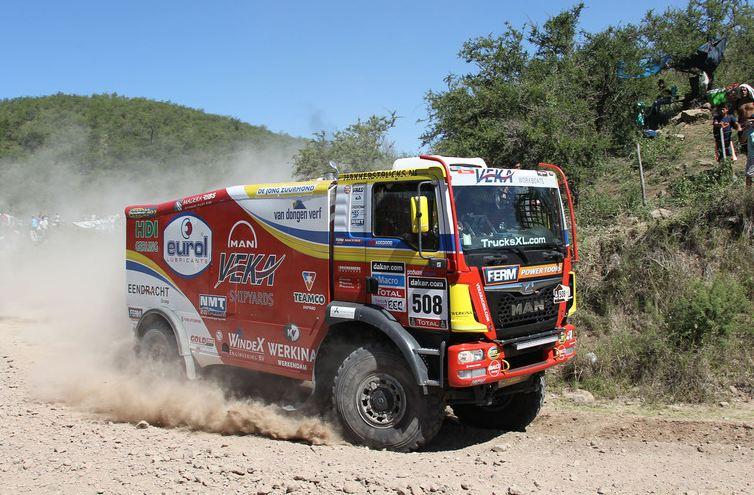 Marcel van Vliet derde in eerste Dakar-etappe