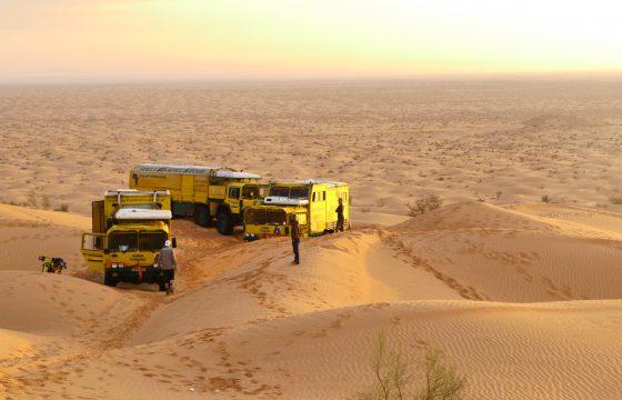 Video lezersreis Sahara Tunesië