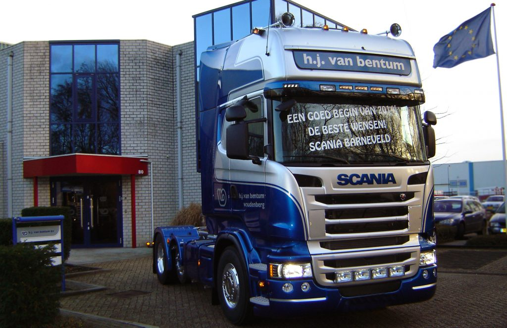 Nieuwe Scania's H.J. Van Bentum