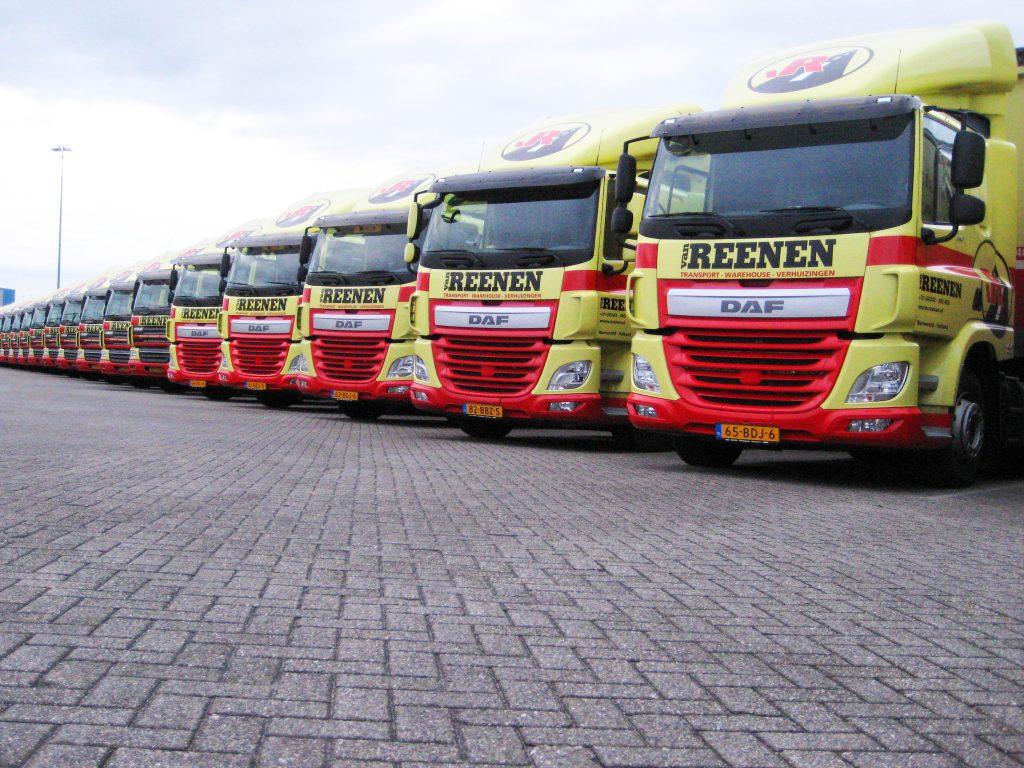 Van Reenen Barneveld.Nieuwe Daf Cf S Van Reenen Truckstar