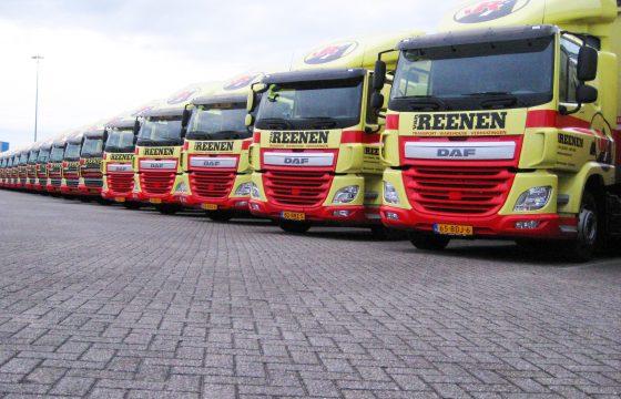 Nieuwe DAF CF's Van Reenen