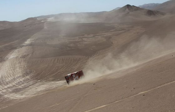 Prima 9e Dakar-etappe Eurol Veka-MAN's