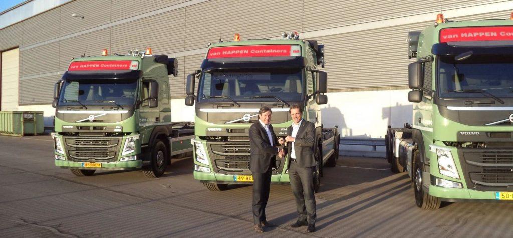 Nieuwe Volvo FM's Van Happen