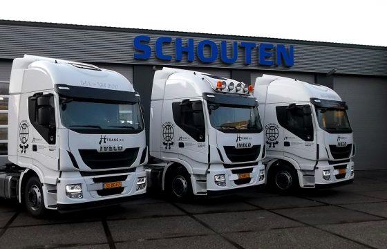 Drie keer Iveco voor H-Trans