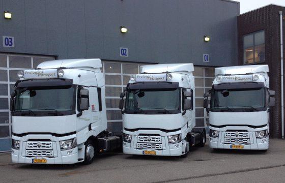 Renault T voor Prologics Transport