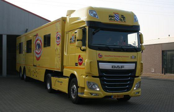 Nieuwe DAF voor verkeersproject