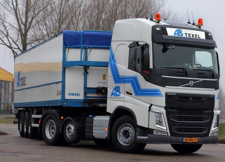 Vijf Volvo trekkers voor AB Texel