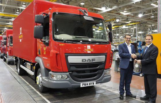 Leyland Trucks produceert 5.000ste DAF met opbouw af fabriek
