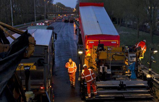 Verkeershinder A16 en A4 Beneluxtunnel
