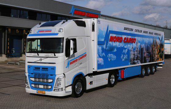 Vijfde Volvo FH voor Nord Cargo BV