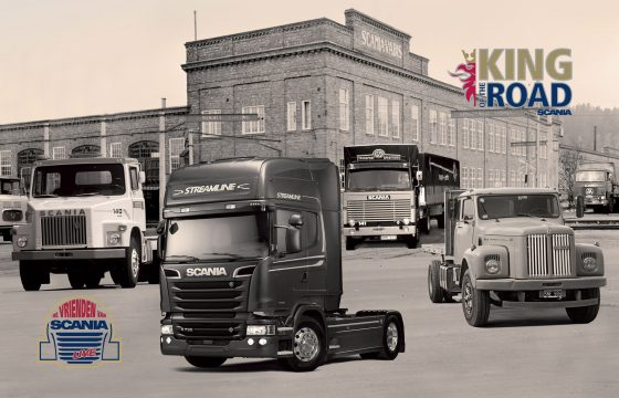 Scania primeurs in Hardenberg