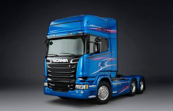 Svempas-creatie: Scania Blue Stream