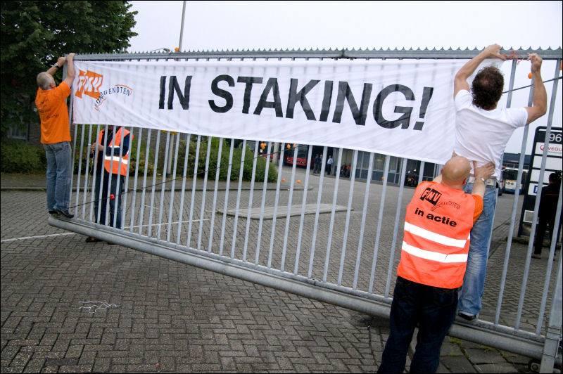 Staking FNV: poorten op slot voor CAO