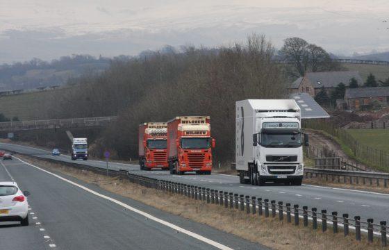 Vrachtwagen-tol Verenigd Koninkrijk