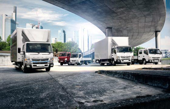 Fuso-trucks website voor Nederlandse markt