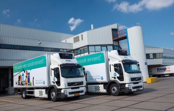 Volvo FE Hybrids voor Knap