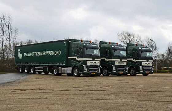 Drie FH 460's Transport Keijzer Warmond