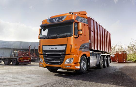 DAF start productie Euro 6 vierassers