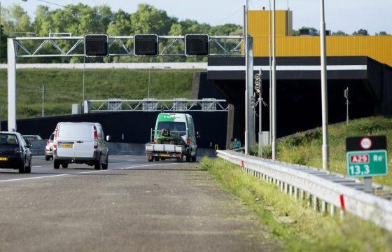 Heinenoordtunnel weer open na brand