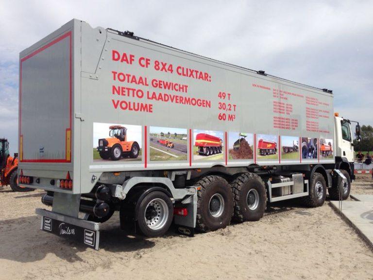 Veldhuizen DAF Clixtar op TKD